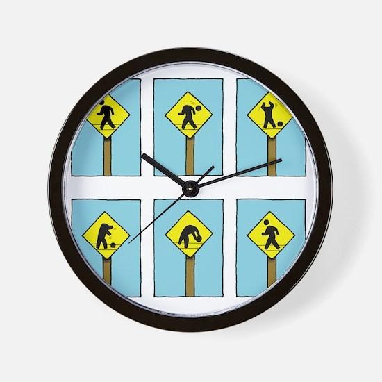 signguydark Wall Clock
