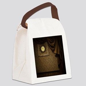 Steam Dreams: Curtains Clock and  Canvas Lunch Bag