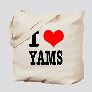 I Heart (Love) Yams Tote Bag