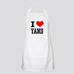 I Heart (Love) Yams BBQ Apron