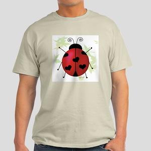 Heart Ladybug Light T-Shirt