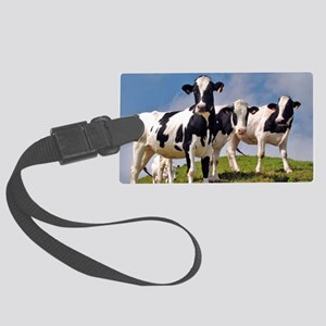 Family portrait Large Luggage Tag