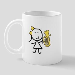 Girl & Baritone Mug