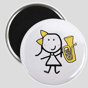 Girl & Baritone Magnet