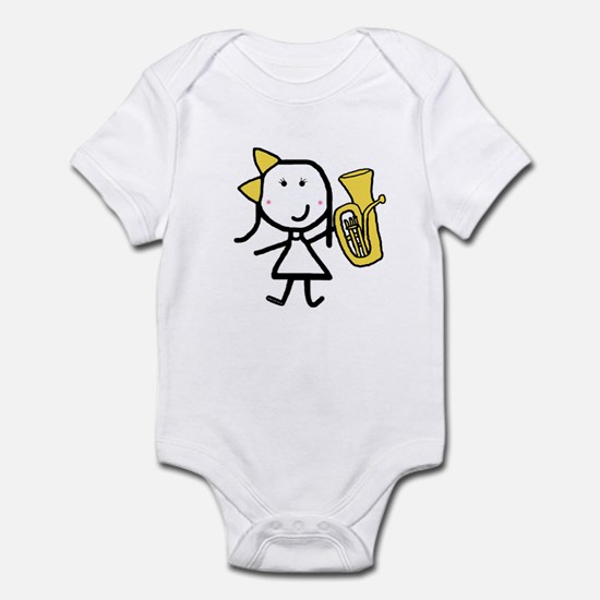 Girl & Baritone Infant Bodysuit
