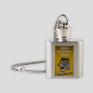 Shoalhaven Tigers Basketball Flask Necklace