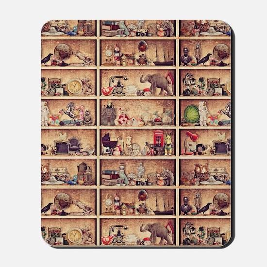 Toy Shelves Mousepad