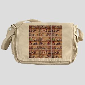 Toy Shelves Messenger Bag