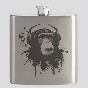 Headphone Monkey Flask