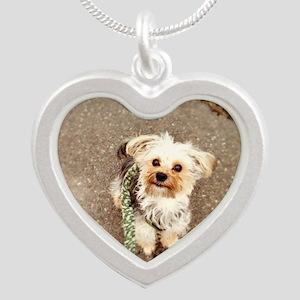 Joey Silver Heart Necklace