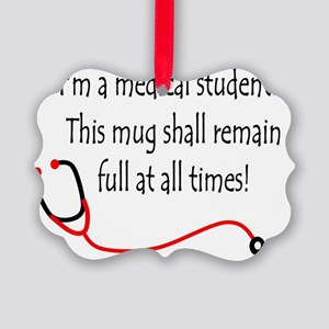 Medical Student Mug Picture Ornament