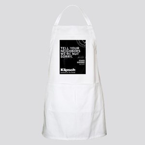 Were Not Sorry Apron
