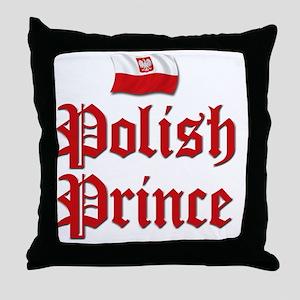 Polish Prince 2 Throw Pillow