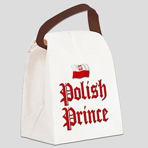 Polish Prince 2 Canvas Lunch Bag