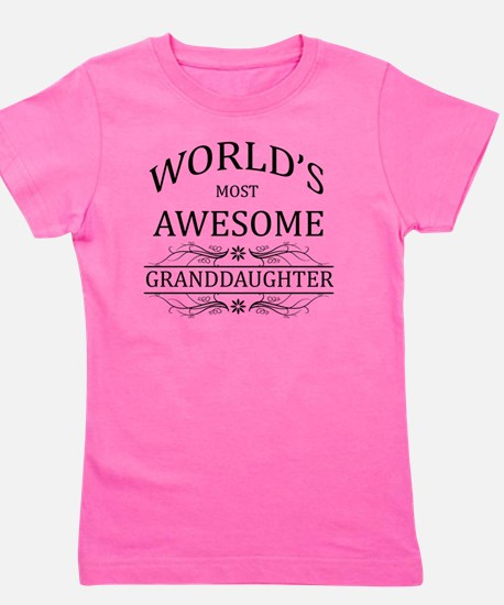 MOST AWESOME FAMILY best friend GRANDDA Girl's Tee