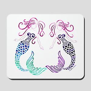 Mermaid Gals Mousepad