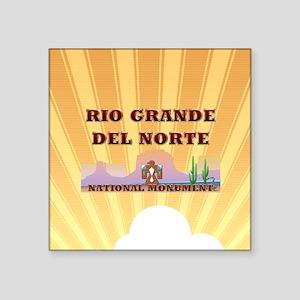 """riograndednortesq Square Sticker 3"""" x 3"""""""