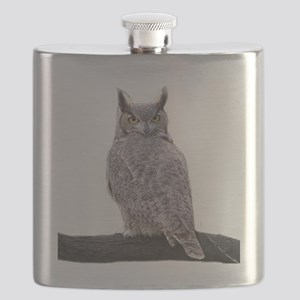 Great Horned Owl-1 Flask