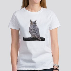Great Horned Owl-1 Women's T-Shirt