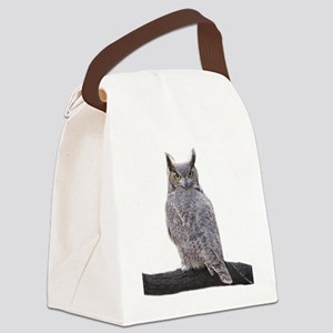Great Horned Owl-1 Canvas Lunch Bag