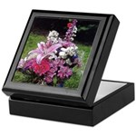 Floral Bouquet Art Keepsake Box