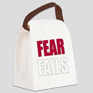 FEAR FAILS Canvas Lunch Bag