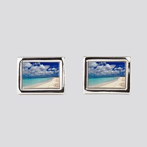 Merengue in Cocoa Bay Titled Cufflinks