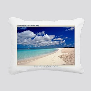 Merengue in Cocoa Bay Ti Rectangular Canvas Pillow