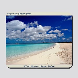 Merengue in Cocoa Bay Titled Mousepad