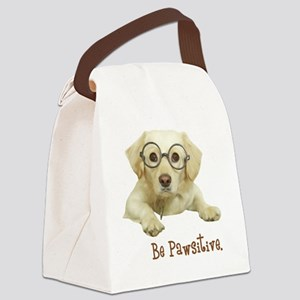 Be Pawsitive! Canvas Lunch Bag