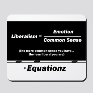 Liberalism = Emotion Divided by Common Sense Mouse