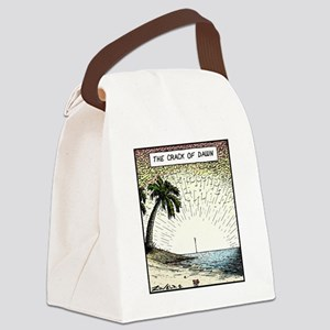 The crack of Dawn Canvas Lunch Bag