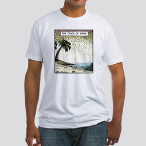 The crack of Dawn Fitted T-Shirt
