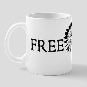 Free Lenny Black Mug