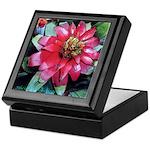 Red Bromeliad - Art Keepsake Box