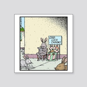 """Good luck charms Square Sticker 3"""" x 3"""""""