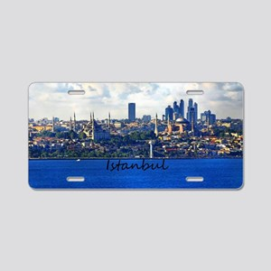 Istanbul_12.2x6.64_BlueMosq Aluminum License Plate