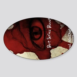 BSB Cocktail Plate cover Sticker (Oval)