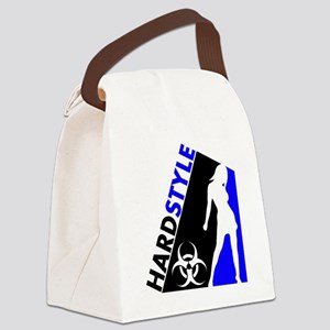 Hardstyle Dancer and Biohazard de Canvas Lunch Bag