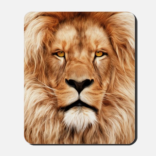 Lion - The King Mousepad