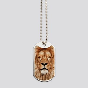 Lion - The King Dog Tags