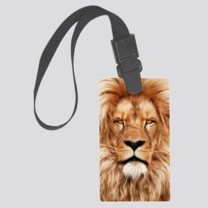 Lion - The King Large Luggage Tag