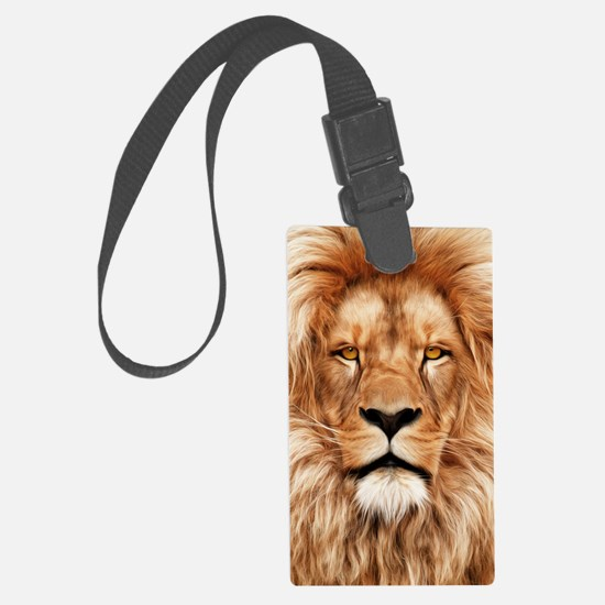 Lion - The King Luggage Tag
