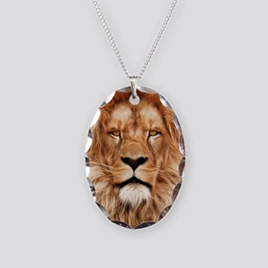 Lion - The King Necklace Oval Charm