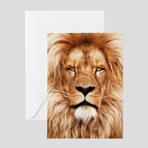 Lion - The King Greeting Card