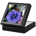 Purple Lysanthium #2 - Art Keepsake Box