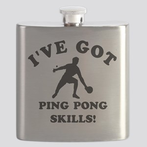 Ive got Ping Pong Skills Flask