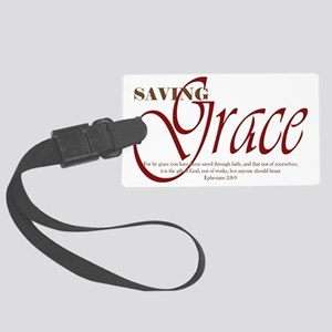 Saving_Grace Large Luggage Tag