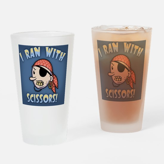 pirate-scizzors2-TIL Drinking Glass