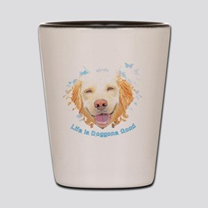 Life is Doggone Good (Magnet/Button) Shot Glass